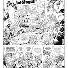 Las Odiseas de Ulises 4 Ulises y las Lotofagas de Carlos Gimenez