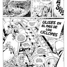 Las Odiseas de Ulises 2 Ulises en el Pais de los Ciclopes de Carlos Gimenez