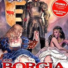 Los Borgia 3 de Milo Manara