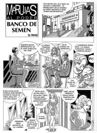 Marujas al Poder Banco de Semen por Armas
