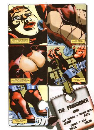 The Prissioner por Art Brooks, Sergio Bleda