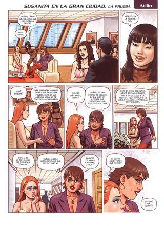 Susanida en la Gran Ciudad 7 La Prueba por Atilio Gambedotti