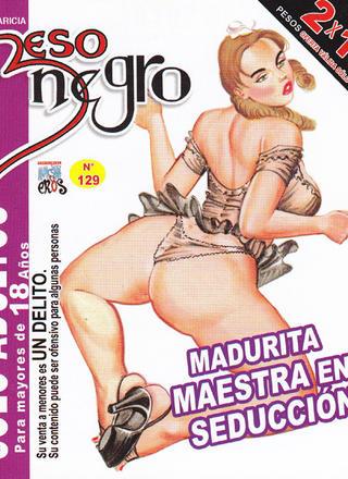 Madurita Maestra en Seduccion de Beso Negro