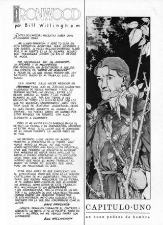 Ironwood de Bill Willingham