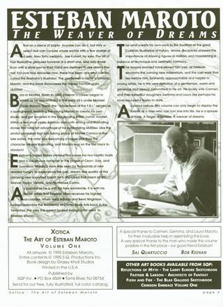 The Art of Xotica 1 de Esteban Maroto