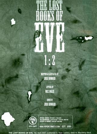 Los Libros Perdidos de Eva 2 de Howard Josh