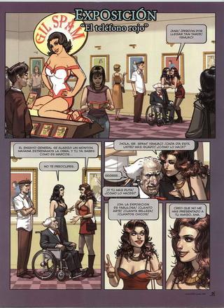 Exposicion El Telefono Rojo de Ignacio Noe