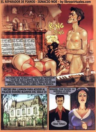 The Piano Tuner de Ignacio Noe