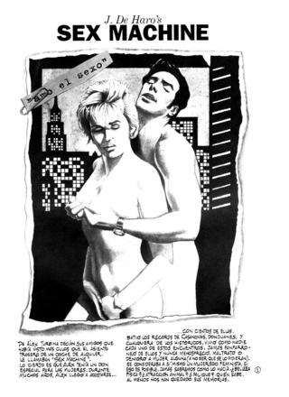 Sex Machine 1 por Josep de Haro