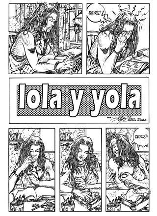 Lola y Yola por Juanjo