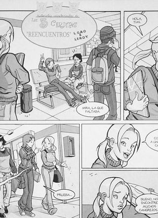 Reencuentros de Leandro Gao, Leroy