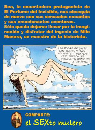 Desnuda por la Ciudad de Milo Manara