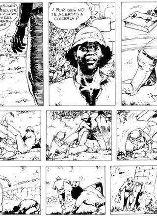 Las Aventuras Africanas de Milo Manara