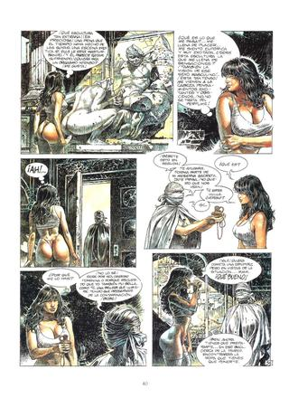 Druuna 5 Mandragora de Paolo Eleuteri Serpieri