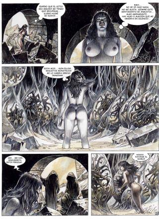 Druuna 7 El Planeta Olvidado de Paolo Eleuteri Serpieri