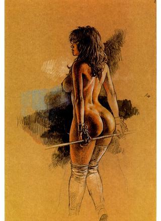 Druuna X Art Book de Paolo Eleuteri Serpieri