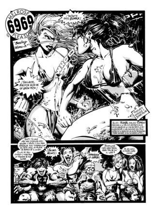 6969 Melrose Pleasure Boxing Women por Sergio, Rakel