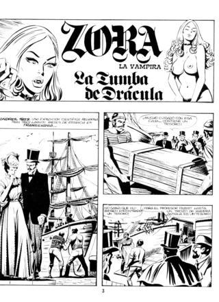 La Tumba de Dracula por Zora la Vampira