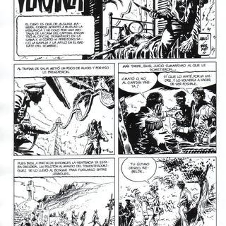 La Venganza por Abuli, Jordi Bernet
