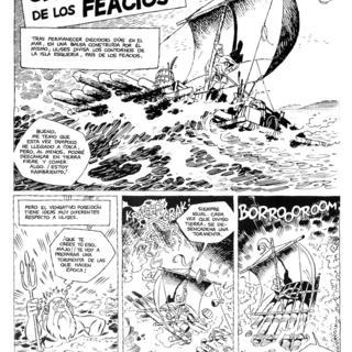 Las Odiseas de Ulises 7 Ulises en la Pais de los Feacios de Carlos Gimenez