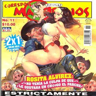 Rosita Alvires por Corridos Marranos