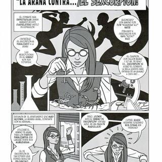 La Increible Hembra Arana El Sexcorpion por Don Nadie, Rafa Ruiz