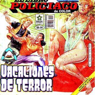Vacaciones de Terror por El Libro Policiaco de Color