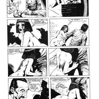 Los Ojos de la Momia por Frankenstein