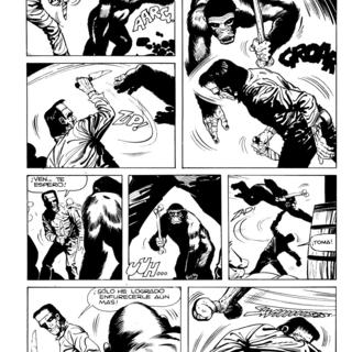 El Gorila Negro por Frankenstein