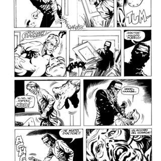 Rostro del Horror por Frankenstein