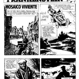 Mosaico Viviente por Frankenstein