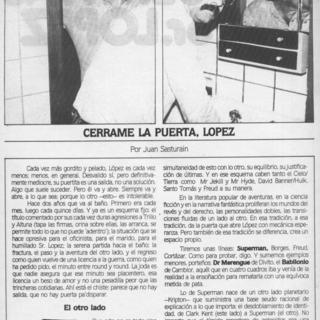 Las Puertitas Del Sr Lopez de Horacio Altuna
