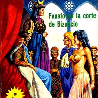 Fausto en la Corte de Bizancio por Lucifera