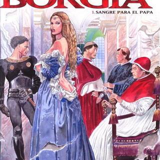 Los Borgia 1 de Milo Manara