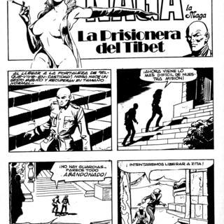 La Prisionera del Tibet por Naga la Maga