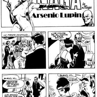 Arsenio Lupin por Naga la Maga