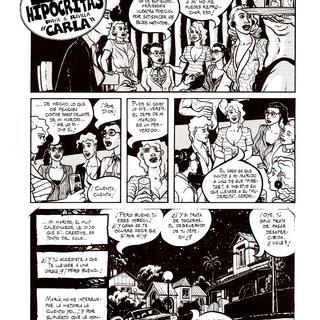 Las Hipocritas Carla por Paya, Revilla