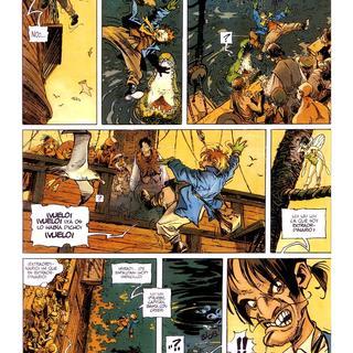 Peter Pan 2 por Regis Loisel