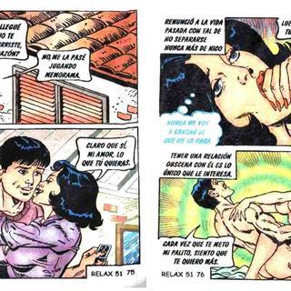 Cara de Nino Pinga de Hombre por Relaciones Obscenas