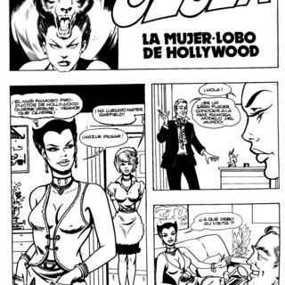 La Mujer-Lobo de Hollywood por Ulula