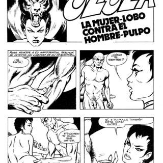 La Mujer-Lobo contra el Hombre-Pulpo por Ulula