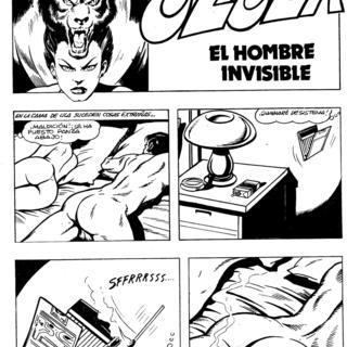 El Hombre Invisible por Ulula